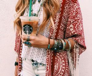 starbucks, fashion, and style image