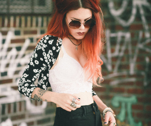girl, hipster, and luanna image