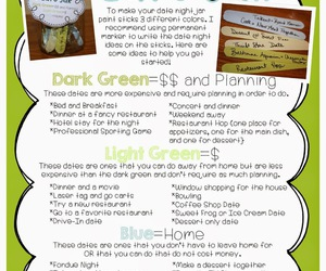 gift idea, boyfriend gifts, and date jar image