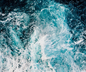blue, ocean, and water image
