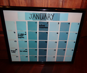 calendar, gift ideas, and boyfriend gifts image