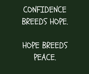 confidence, confucius, and hope image