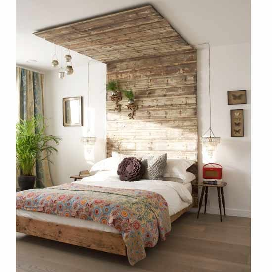 Create a statement headboard | Feature wall ideas - 10 of the best ...