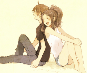 couple, anime, and pokemon image