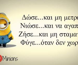 funny, quotes, and we love minions image