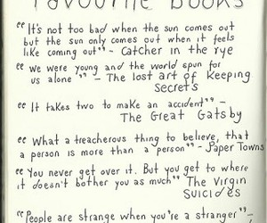 book, john green, and quote image