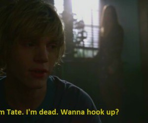 evan peters, american horror story, and tete and violet image