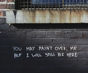 quotes, paint, and wall image