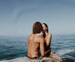 beach, photography, and Relationship image