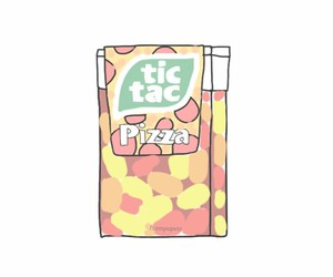 overlay, pizza, and tic tac image
