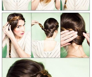 hair, updo, and makeup tips image