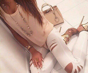 bag, jewelry, and class image