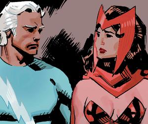 elizabeth olsen, Marvel, and quicksilver image