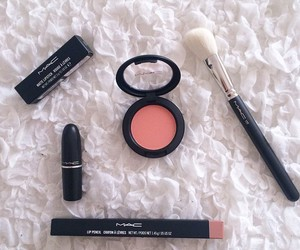 girly, lipstick, and mac image