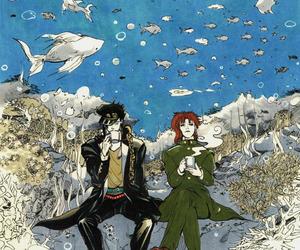 anime, illustration, and jojo's bizarre adventure image