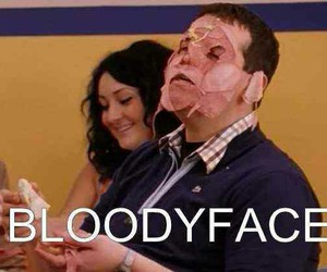 likes, ahs, and bloodyface image