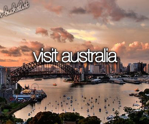 australia, travel, and bucket list image