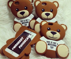 bear, cute, and case image