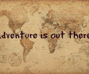 adventure, world, and map image