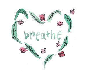 art, inspiration, and breathe image