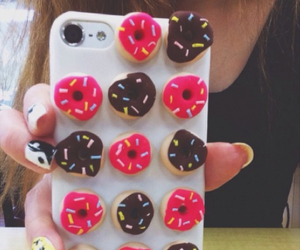 donuts, iphone, and nails image