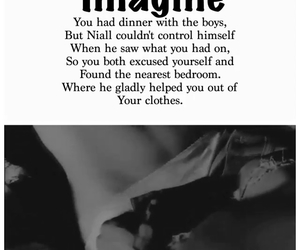 one direction imagine, imagine niall horan, and imagine liam image