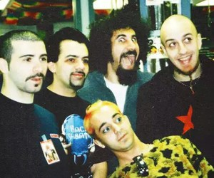 system of a down, music, and rock image