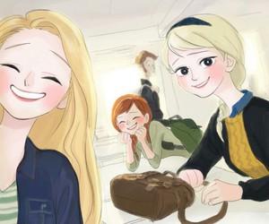 disney princess, rapunzel, and selfie image