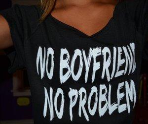 boyfriend, problem, and shirt image