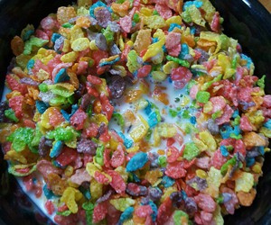 breakfast, cereal, and colorful image
