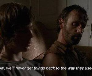 quote, the walking dead, and twd image