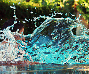 water, photography, and summer image