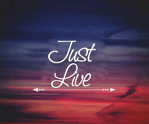 just live and 😍 image