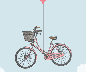 bike and sky image