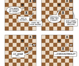 chess and funny image