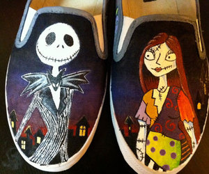 nightmare before christmas and vans image