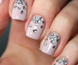 pretty, Prom, and nail design image