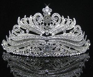 beautiful, crown, and princess image