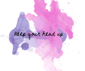 quotes, pink, and head image
