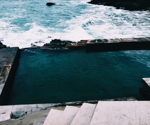 ocean, pool, and travel image