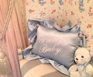 pillow, cute, and bear image