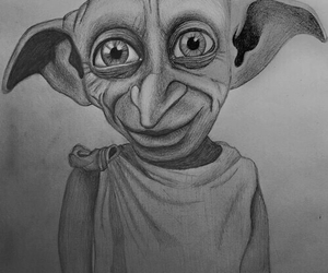 harry potter, dobby, and beautiful image