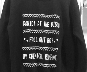 band, my chemical romance, and panic! at the disco image