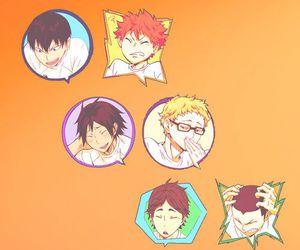 anime and haikyuu!! image