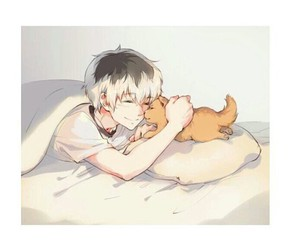 cat, cute, and tokyo ghoul image