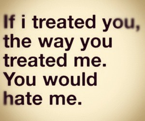 hate, quotes, and treat image