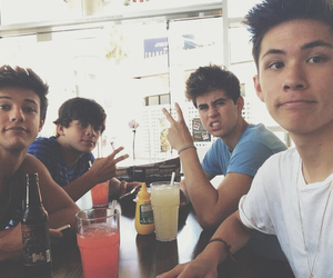 cameron dallas, hayes grier, and old magcon image