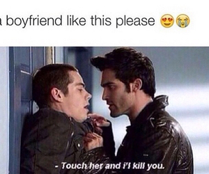 boyfriend, teen wolf, and couple image