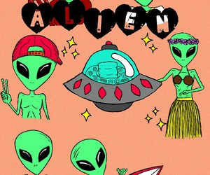 alien, tumblr, and good image