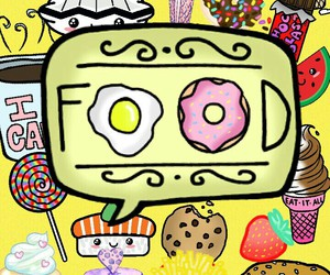 bff, food, and telephone image